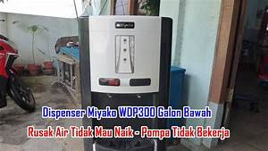 Memperbaiki Dispenser Miyako Wdp300 Galon Bawah Rusak Air