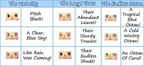 acnl hair color guide acnl eye color guide alert animal