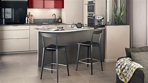 amenager un coin repas dans une petite cuisine mobalpa With plan de travail pour petite cuisine