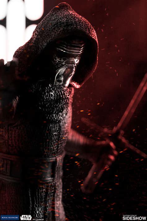 wars kylo ren pewter collectible by royal selangor sideshow collectibles