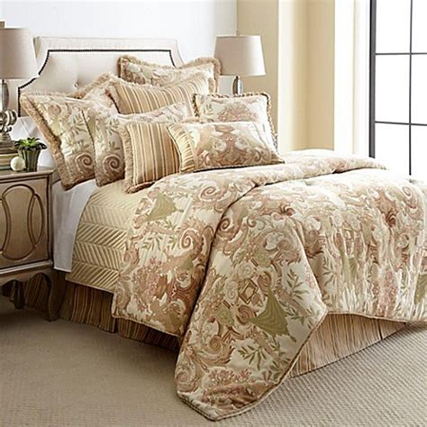 austin horn bedding buy horn 174 classics cherub california king comforter set in beige from bed bath beyond