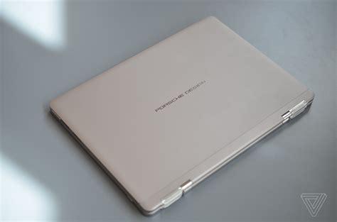 book one porsche porsche design book one review a laptop that needs a pit