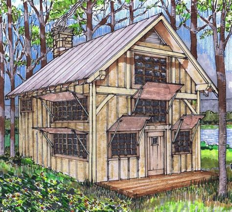 20x24 Timber Frame Plan with Loft Timber Frame HQ