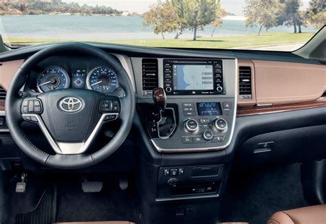 sienna toyota 2021 space interior cargo redesign vs rumors release date inside dashboard legroom seat rear does