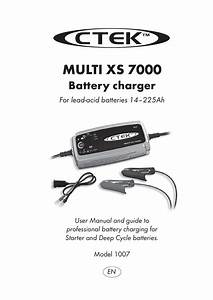 Ctek Xs7000 Charger User Manual By Talk Audio Online
