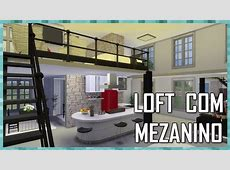 The Sims 4 LOFT COM MEZANINO House Building YouTube