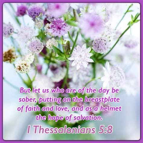 1 Thessalonians 5 8