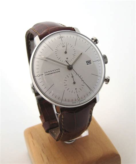 Max Bill By Junghans by Wtb Max Bill Chronoscope By Junghans
