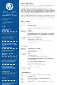Dentist Dds Resume by Zahnarzt Cv Beispiel Visualcv Lebenslauf Muster Datenbank