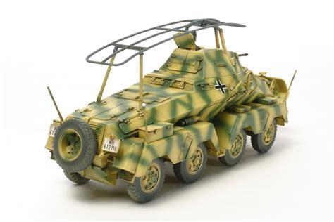 german 8 wheeled sd kfz 232 heavy armored car tamiya 32574