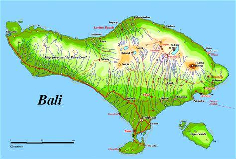 bali map mountains  rivers iris sans frontieres