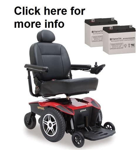 scooter store tss450 power wheelchair battery sp12 55