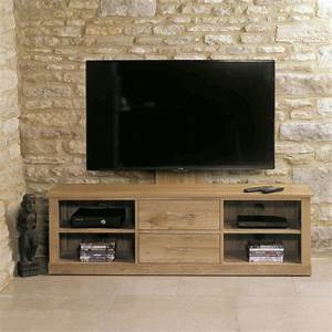 Buy Baumhaus Mobel Oak Mounted Widescreen Television