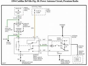 99 Deville Power Antenna Wire Diagram Wiring Manual