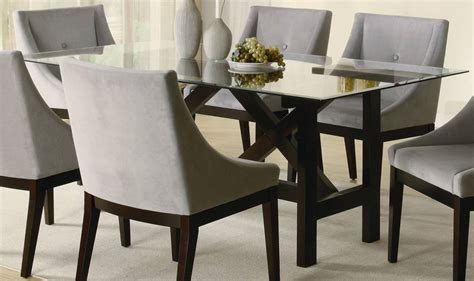 rectangle dining room table rectangle glass top dining table decor ideasdecor ideas