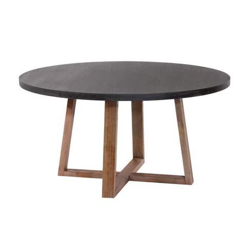 table de cuisine ronde pas cher table ronde tambora 140 cm achat vente table salle a