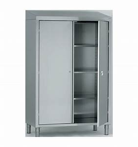 Armoire De Rangement : armoire de rangement inox ~ Teatrodelosmanantiales.com Idées de Décoration