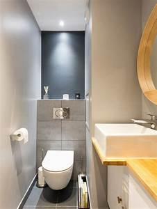 Deco Wc Gris : carrelage pour wc suspendu ob57 jornalagora ~ Melissatoandfro.com Idées de Décoration