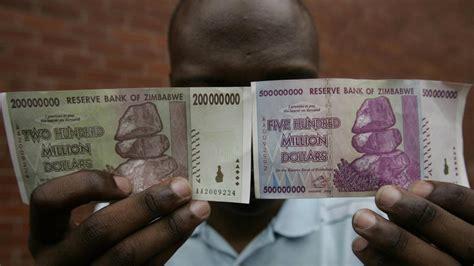 quadrillionaire  zimbabwe   barely afford  buy bread quartz africa