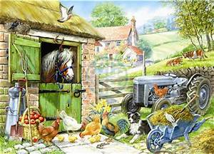 down on the farm 250xl piece jigsaw puzzle free delivery With katzennetz balkon mit garden puzzle