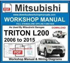 Mitsubishi L200 Radio Wiring Diagram Pdf