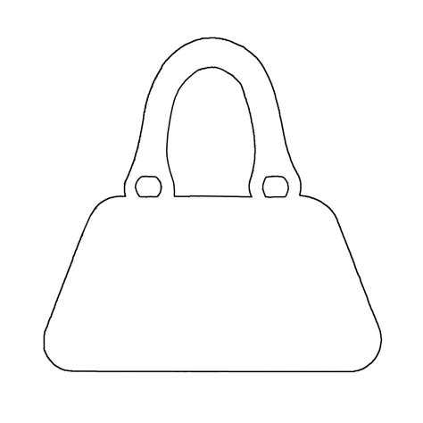 handbag card template free handbag plasma craftwork cards patrones