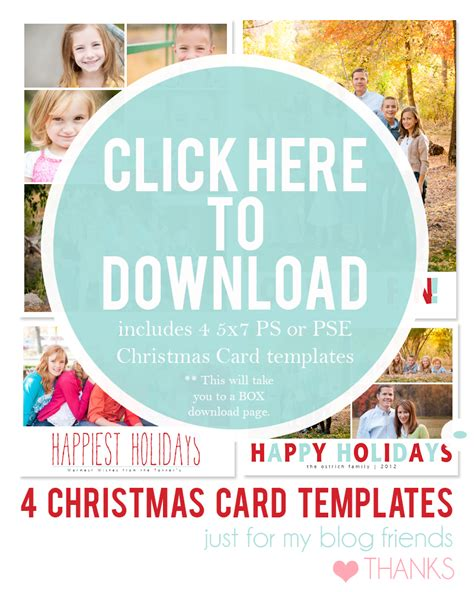 free christmas card templates for free printable card templates allcrafts free crafts update