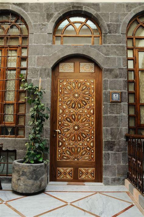 Wood Door Al Pasha Hotel Damascus, Syria  Love It