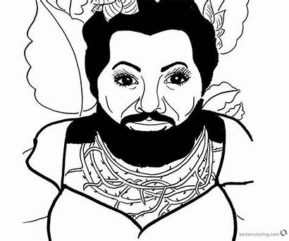 Showman Greatest Coloring Pages Fan Lettie Printable