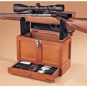 Outers Universal Gun Cleaning Wood Tool Box - 111186, Gun