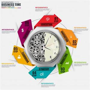 Abstract 3d Business Arrow Cycle Diagram Infographic  Can