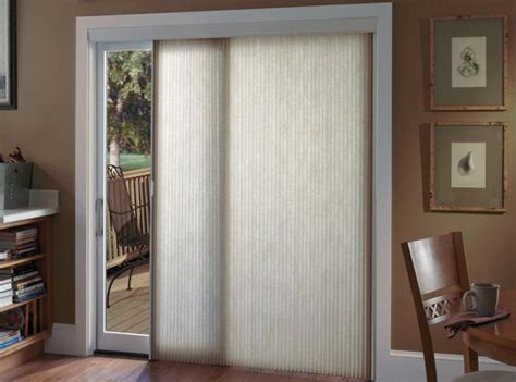 cellular shade vertical slider shade for patio door