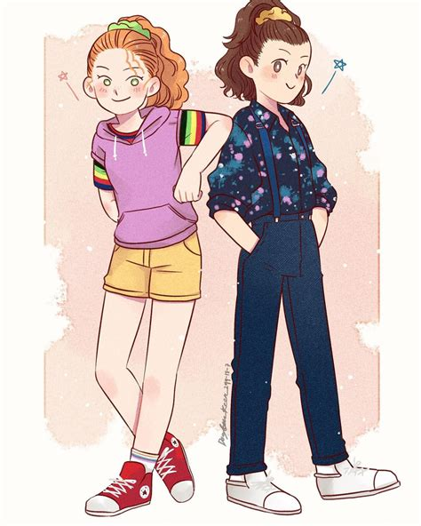 Stranger Things Eleven and Max by The_Dogbear, thedogbearr ...