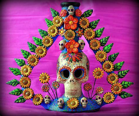 Portavelas cadaverico | Day of the dead art, Mexican folk ...