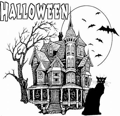 Halloween Coloring Pages Adult Teen Scary Adults