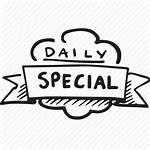 Menu Restaurant Daily Special Specials Icon Transparent