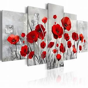 Toile Blanche A Peindre : modele fleurs peinture acrylique recherche google ~ Premium-room.com Idées de Décoration