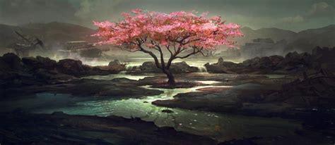 Digital Scenery Wallpaper by Japan Tsunami Relief Digital Paintings Scenery