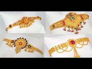Latest 22 Carat Gold Armlet Bajubandh chain Model Designs ...