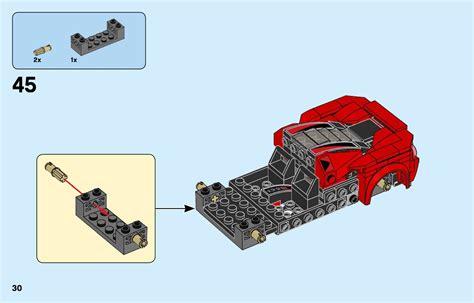 Abaixo, você pode visualizar e baixar as instruções de criação de pdf gratuitamente. LEGO 76895 Ferrari F8 Tributo Instructions, Speed Champions