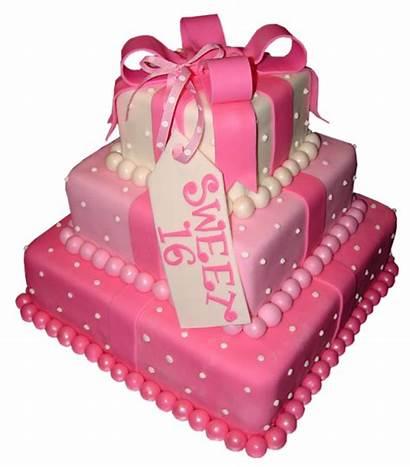 Sweet Cake Birthday Clipart Transparent Happy Sixteen