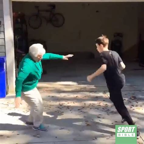 SPORTbible - Gran Fails At Basketball | Facebook