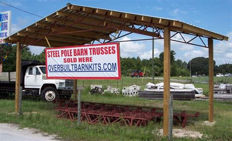 Steel Pole Barn Trusses For Sale