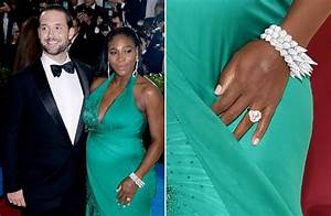 a count down of 34 stunning celebrity engagement rings With serena williams wedding ring