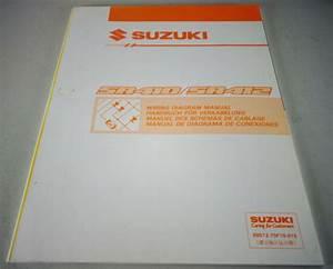 Workshop Manual Electric  Schematics Suzuki Wagon R Sr410