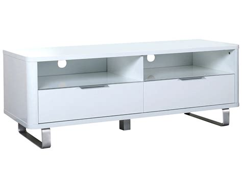 Gloss Blackwhite Low Sideboard Tv Table Stand Storage