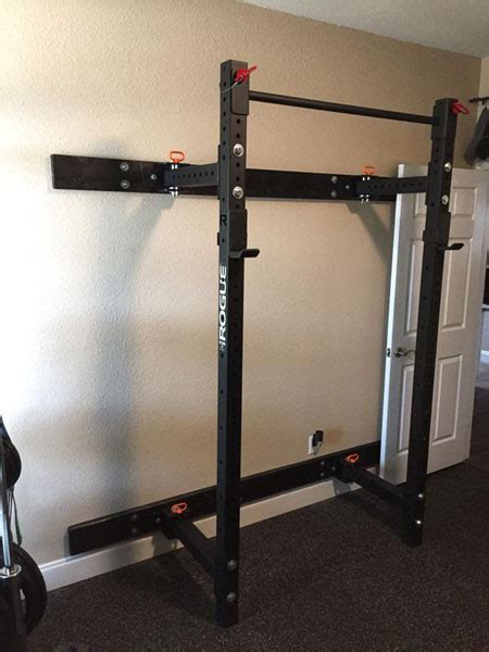 rogue rml  wall rack ready   garage gyms