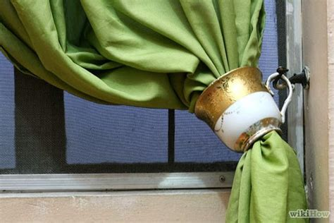 10 Clever Curtain Tie-backs
