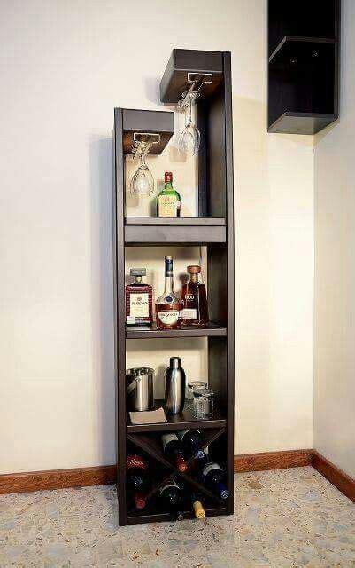 licorera  imagenes bares en casa pequenos cantinas