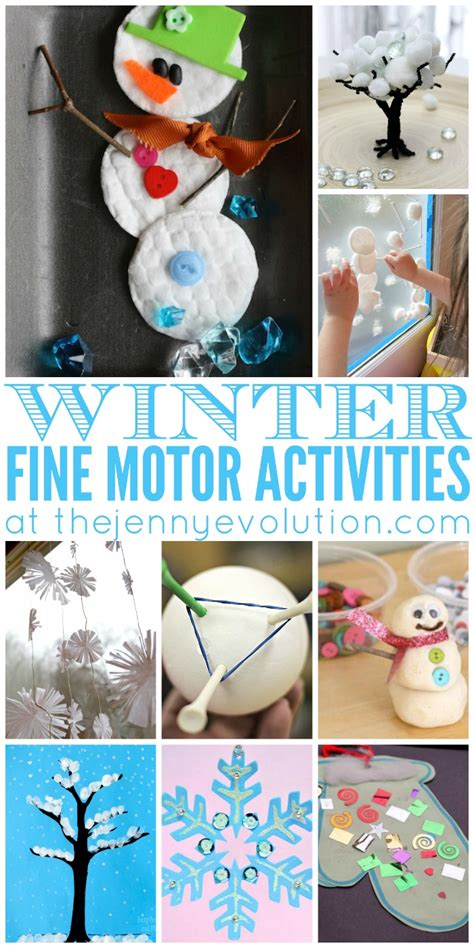 motor winter activities for preschoolers the 269 | Fine Motor Winter Activities for Preschoolers